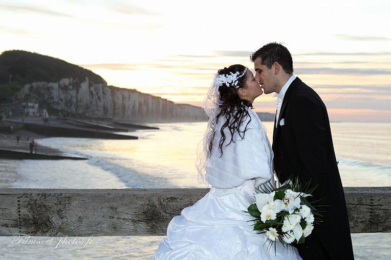 photo de mariage bord de mer