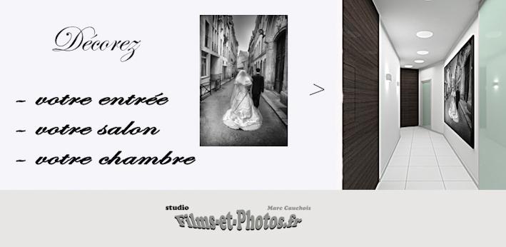 Décoration photo  mariage à Rouen 76