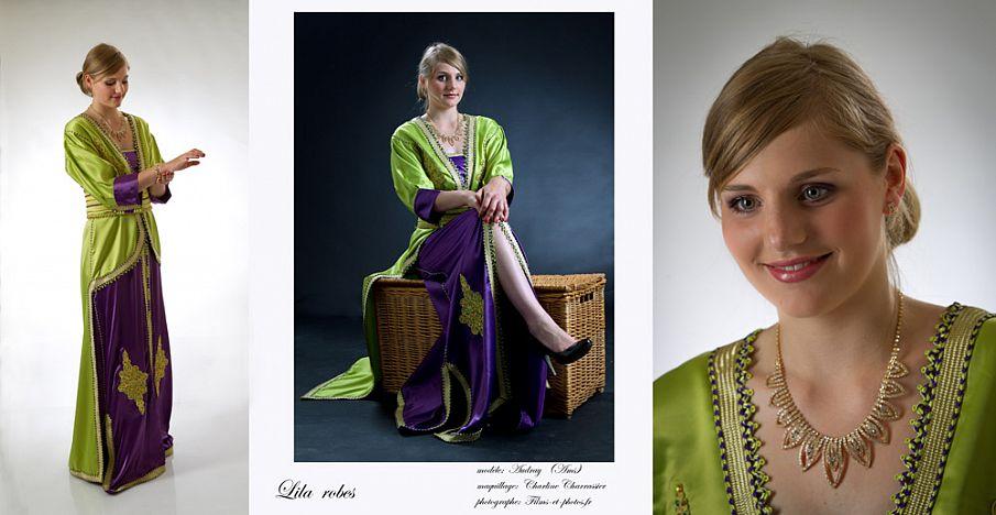 shooting collection Lila robes